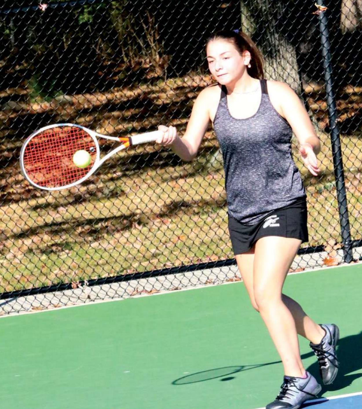 Lancer Varsity Tennis Team Wins Two