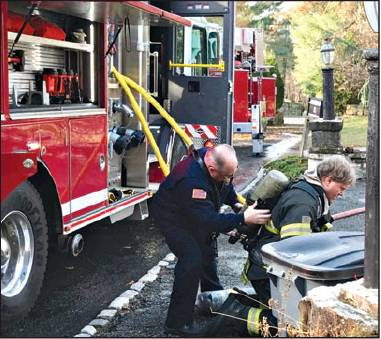 Fire Damages Home On Twilight Court
