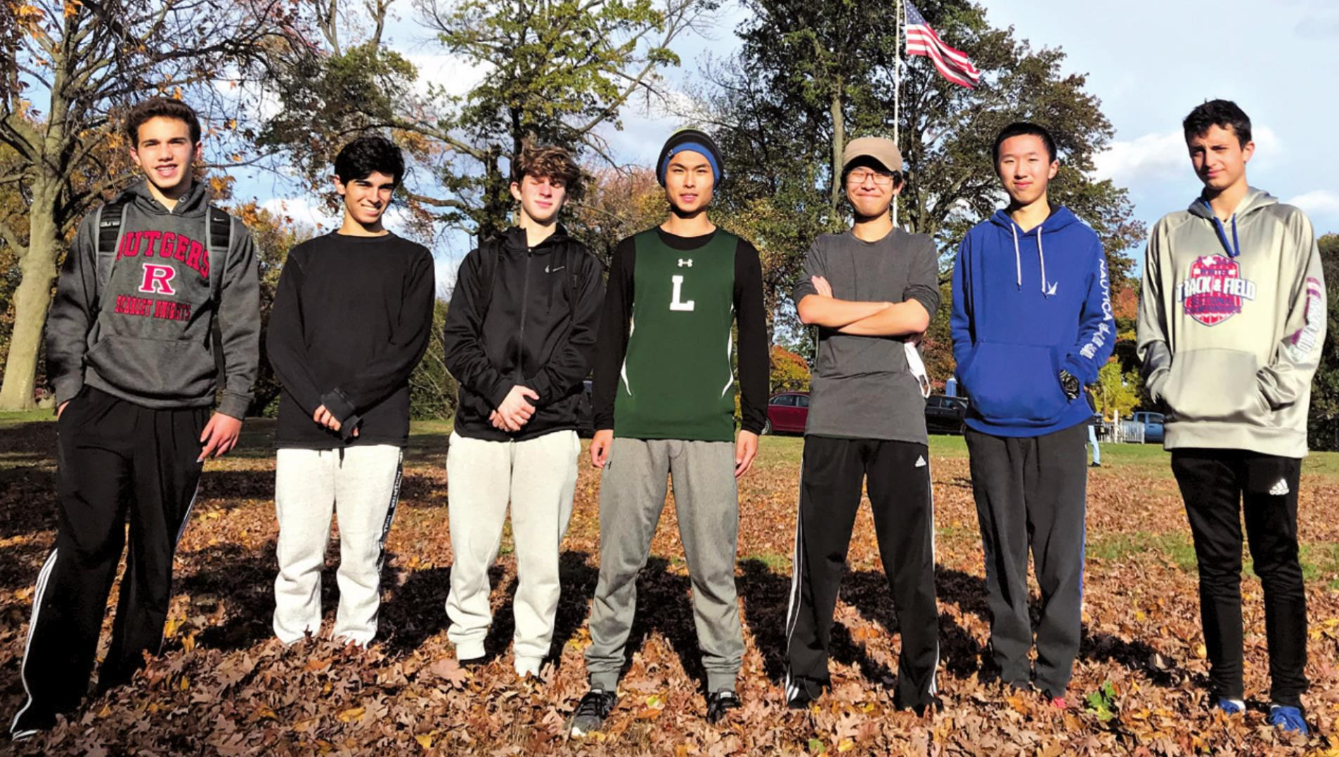 Lancer Boys' Cross Country Team Places Seventh in American Conference Championships