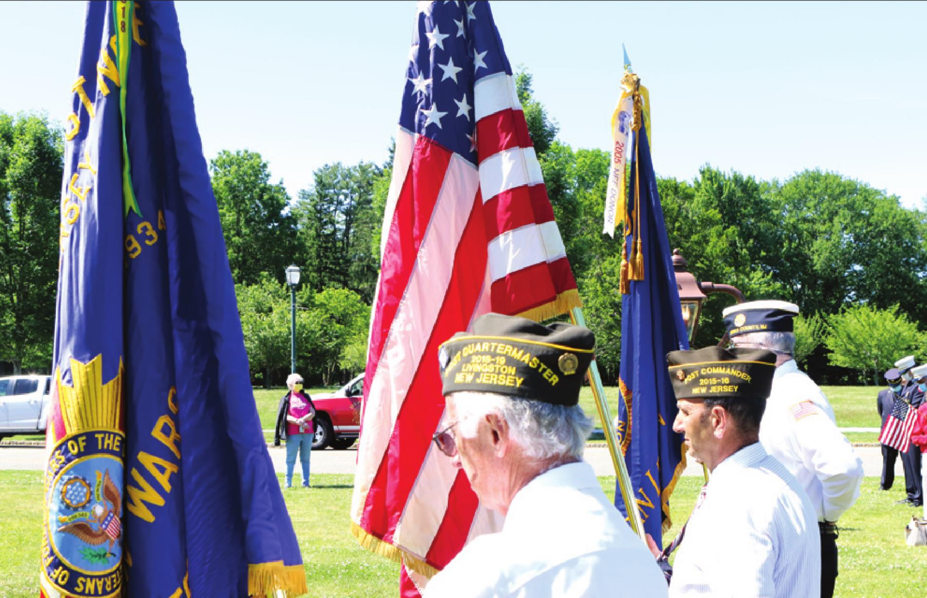 "Veterans, Officials Salute ""Old Glory""on Flag Day"