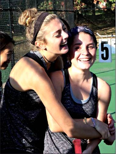 Girls' Tennis Team Wins Sectional Title