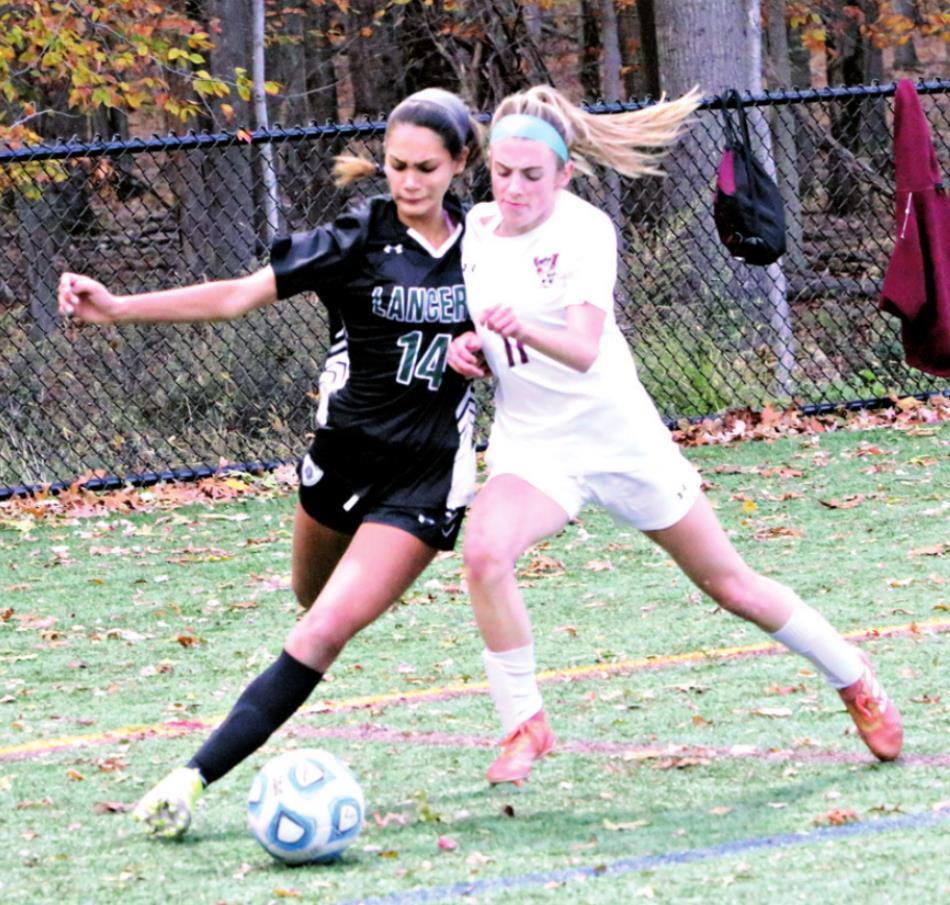 LADY LANCERS SHUT OUT VERONA