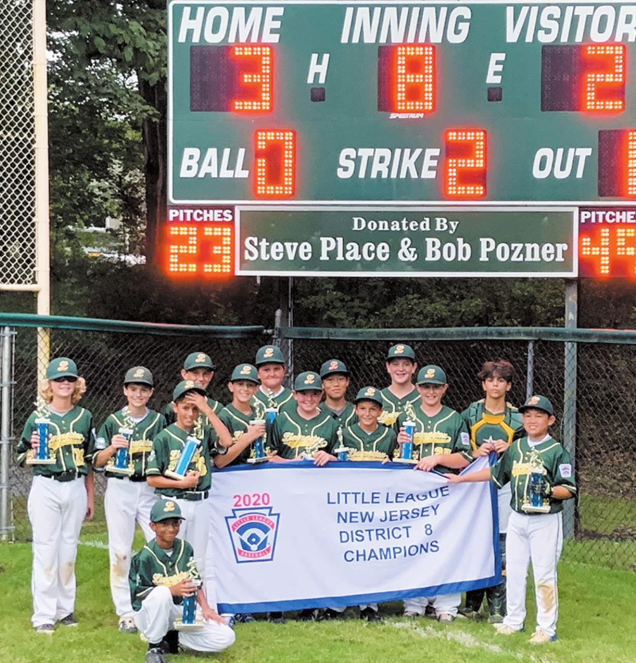 Little League Team Claims Third Consecutive District Title