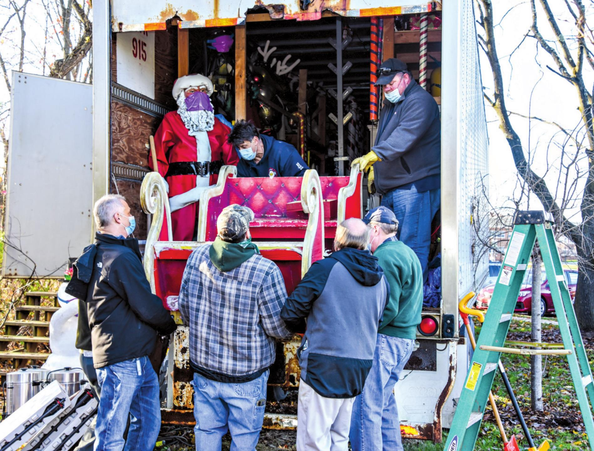 Camuso Holiday Display Will Open With COVID-19 Restrictions in Place