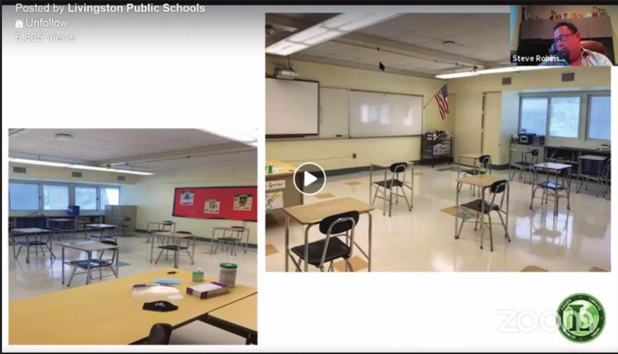 School Board, Parents Discuss Livingston Reopening Plan