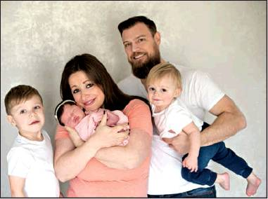 Abigail Rose Gaston is Livingston's First Baby