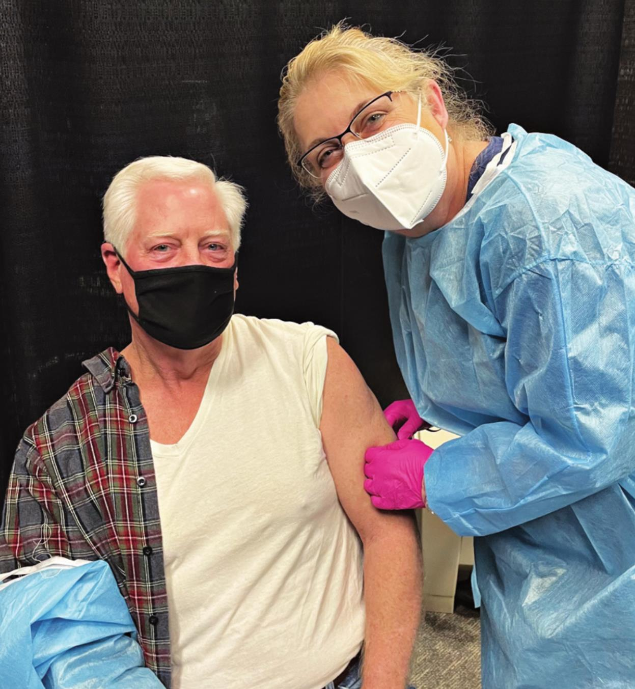 Livingston Leads County in Vaccinations
