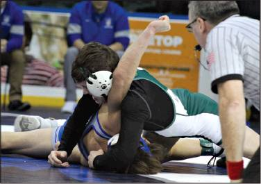 Lancer Wrestling Team Takes Third in County Tournament