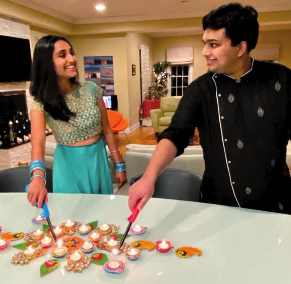 "Livingston ""Lights Up"" to Celebrate Diwali"