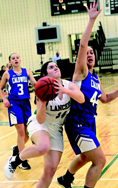 LADY LANCERS FALL TO CALDWELL