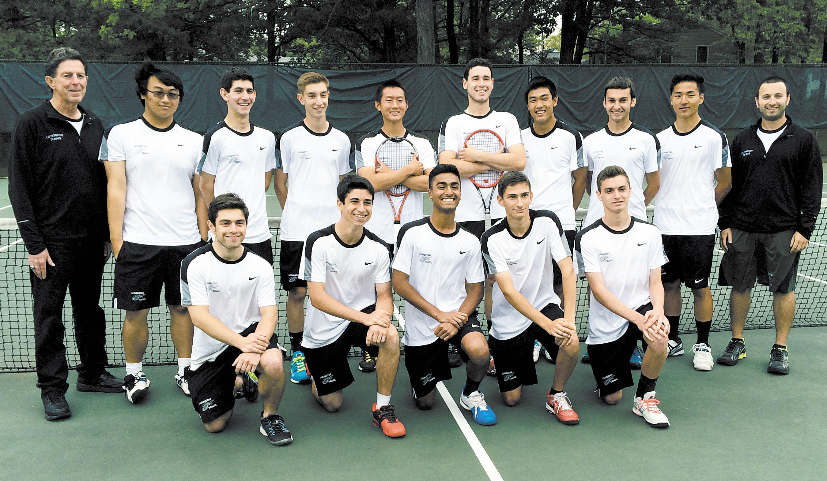 Livingston High School Boys' Tennis Team Wins Group IV State