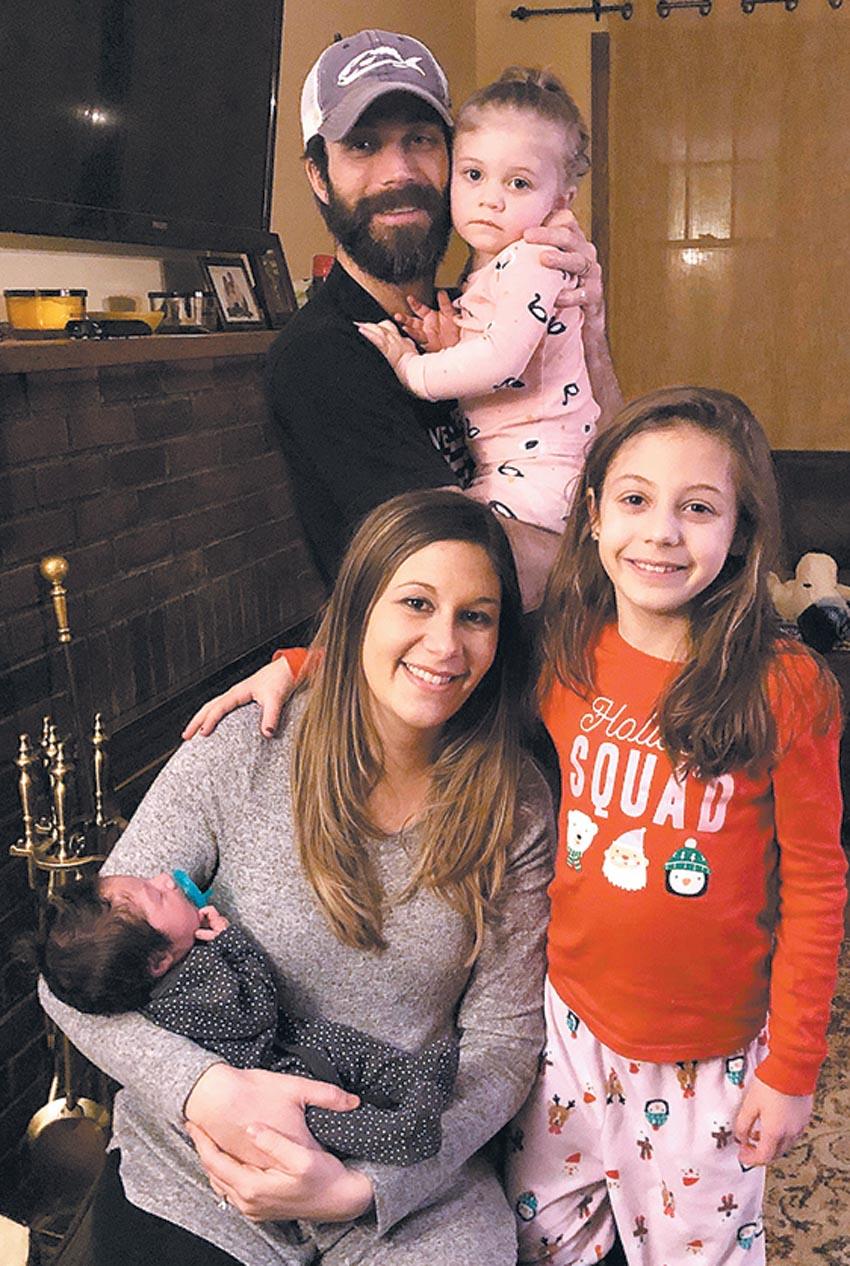 Matthew Semplenski, Born Jan  3, Is Livingston's First Baby of 2019
