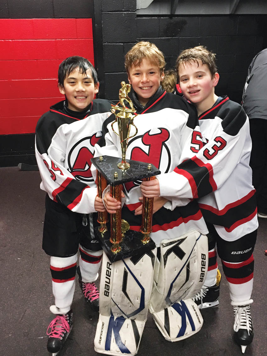 Youth Devils Win Hockey Tournament Westessextribune Net West