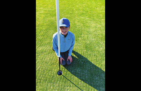 Heritage Student Hits Hole in One