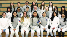 Winning Season For Lady Lancer Fencers
