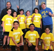 Fifth-Sixth Grade Basketball Champs