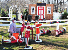 Holiday Display Opens Saturday for the Season