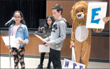 Students Share Stories About Community and School