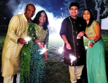 "Livingston ""Lights Up"" to Celebrate Diwali"