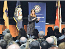 Rep. Mikie Sherrill Holds First 2020 Town Hall in Livingston