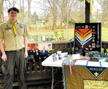 Eagle Scout Jayson Melhorn Receives Overdue Honors