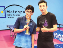 Eighth Grader Is NJ Table Tennis Champion