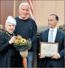 Cohen Honored for Decades of Service