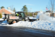 Nor'easter Drops 8+ Inches of Snow on Livingston