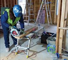 Volunteers Return To Building Habitat for Humanity Home