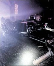 Overturned Car Leads to Drug Arrest